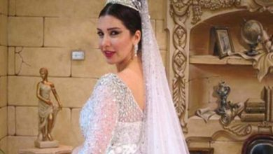 Photo of لاميتا فرنجية تنشر صوراً جديدة من حفل زفافها وترفض كشف هوية عريسها