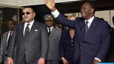 Photo of حفل استقبال رسمي بمراكش على شرف رئيس جمهورية كوت ديفوار