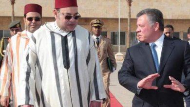 Photo of الملك عبد الله الثاني والملكة رانيا يحلان بالدار البيضاء في زيارة عمل رسمية للمغرب
