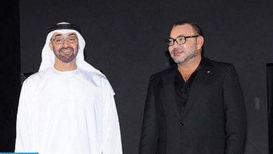 Photo of الملك محمد السادس والشيخ محمد بن زايد آل نهيان يترأسان حفل التوقيع على عدد من اتفاقيات التعاون الثنائي
