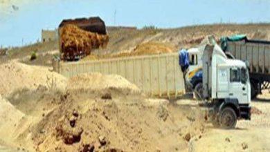 Photo of ضبط شاحنة محملة برمال مسروقة بحد السوالم