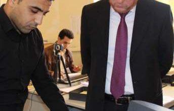 Photo of بوليف يغادر مكتبه ويقوم بزيارات مفاجئة لمراكز تسجيل السيارات