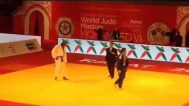Photo of لحظة فوز البطل العالمي في الجيدو تيدي بذهبية ماسترز محمد السادس في الجيدو