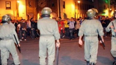 Photo of مراكش ..إصابة 24 عنصرا من القوات العمومية في أعمال شغب قام بها مجموعة من الطلبة