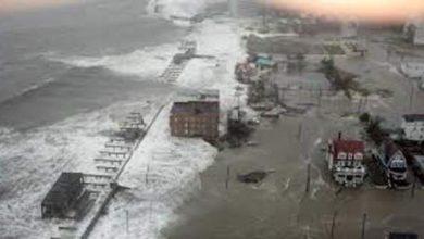 Photo of إعصار قوي يضرب جزر جنوب اليابان ويقترب من تايوان