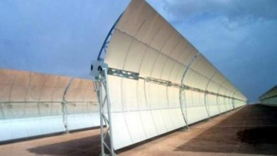 "Photo of ربط مركب الطاقة الشمسية ""نور"" بشبكة الماء غير المعالج انطلاقا من سد المنصور الذهبي"