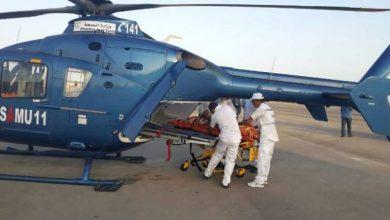 Photo of نقل مصاب في حادثة سير بطانطان عبر مروحية طبية