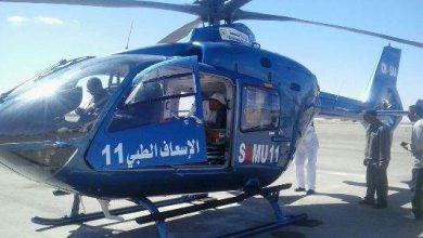 Photo of إنقاذ مولود بالعيون وامرأة حامل بطان طان عبر نقلهما بمروحية طبية إلى مراكش
