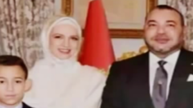 Photo of بالفيديو شاهد لاول مرة الاميرة لالة سلمة بالحجاب