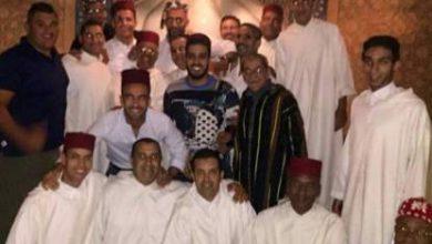 Photo of بالصورة رونالدو بالزي المغرب رفقة بدر هاري بعرس بمراكش